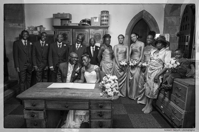 Afro Caribbean Wedding Photography Leeds.