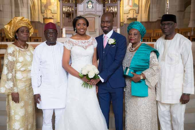 Nigerian wedding at Leeds Cathedral