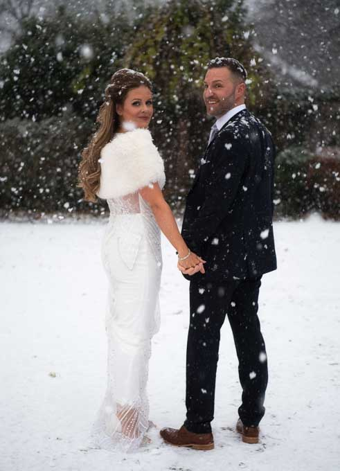 Winter Wonderland Wedding in Harrogate North Yorkshire