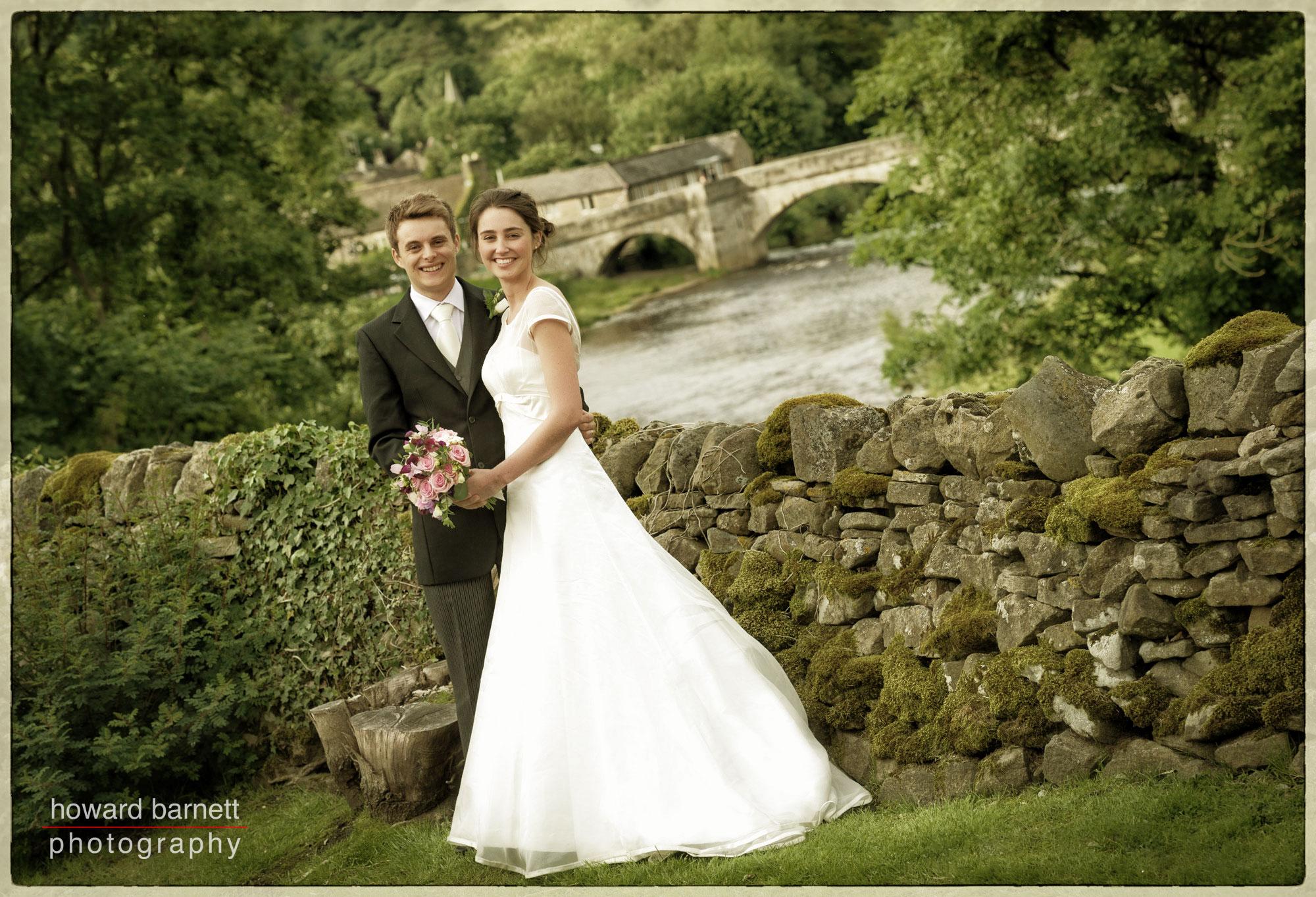 Bride & Groom Burnsall North Yorkshire